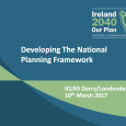 Session 1: Ireland 2040: Feeding into the National Planning Framework Ireland 2040: The Development Of A New National Planning Framework For Ireland Mr. Niall Cussen, Principal Adviser – Planning, Department...