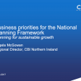 Session 2: Ireland 2040: Exploring Key Themes Planning for Sustainable Growth Ms. Angela McGowan, Chief Executive, CBI NI & Mr. Terry MacNamara, Regional Director, IBEC PDF