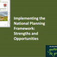 Session 3: Connective Approaches to Spatial Planning and Development Implementing the National Planning Framework: Strengths and Opportunities Mr. Eunan Quinn, Senior Planner, Donegal County Council PDF Mr. Chris Boomer, Head...